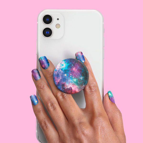 PopSockets Nails Blue Nebula product